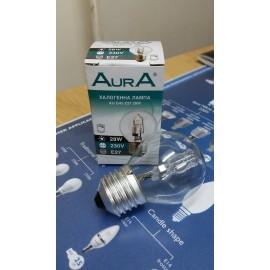 Халогенна лампа 28W/ 42W E27 230V AurA