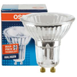 Халогенна лампа FL 35W/50W 230V ДИХР.Ф50.7,GU10,ОСРАМ