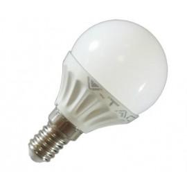 LED крушка Малък балон E14 4W