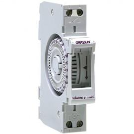 Часовник  TALENTO 211mini ЗА ШИНА Grasslin с акумулаторна батерия