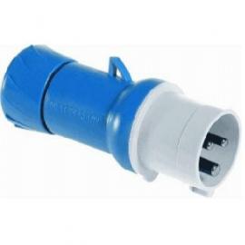 Щепсел подвижен 16A 2P-E  200-250V AC 50/60Hz 6h IP44